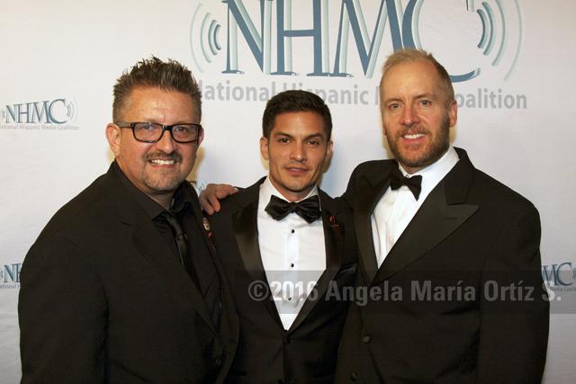 L-r: Lalo Alcaraz, Nicholas Gonzalez and Mark Hentemann