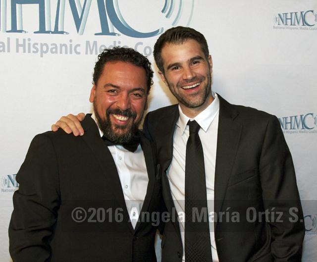 Actors Felix Solis and Bernardo Cubria