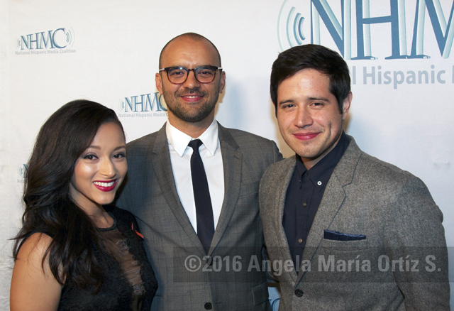 Danielle Vega, Mauricio Mota and Jorge Diaz