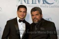 Nicholas Gonzalez and Luis Guzmán