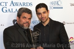 Actors Luis Guzmán and Wilmer Valderrama