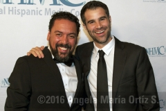 Actors Felix Solis and Bernardo Cubria