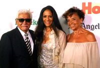 Sheila E. and her parents musician Pete Escovedo and her mom Juanita Gardere