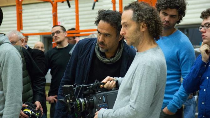 """Alejandro González Iñárritu and Emmanuel """"El Chivo"""" Lubezki"""