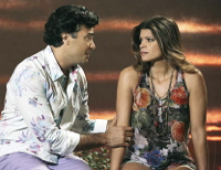 Jaime Camil and Andrea Navedo Jane the Virgin