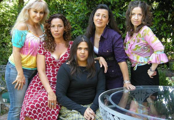 L-R: Marcela Bordes, Marabina Jaimes, Natasha Perez, Ivette Gonzales, Gabriela del Carmen