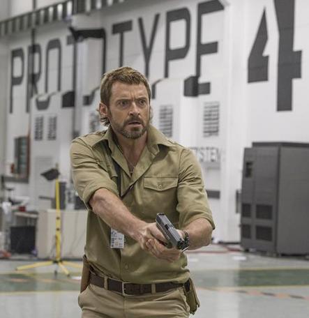 Hugh Jackman as Vincent Moore, Chappie