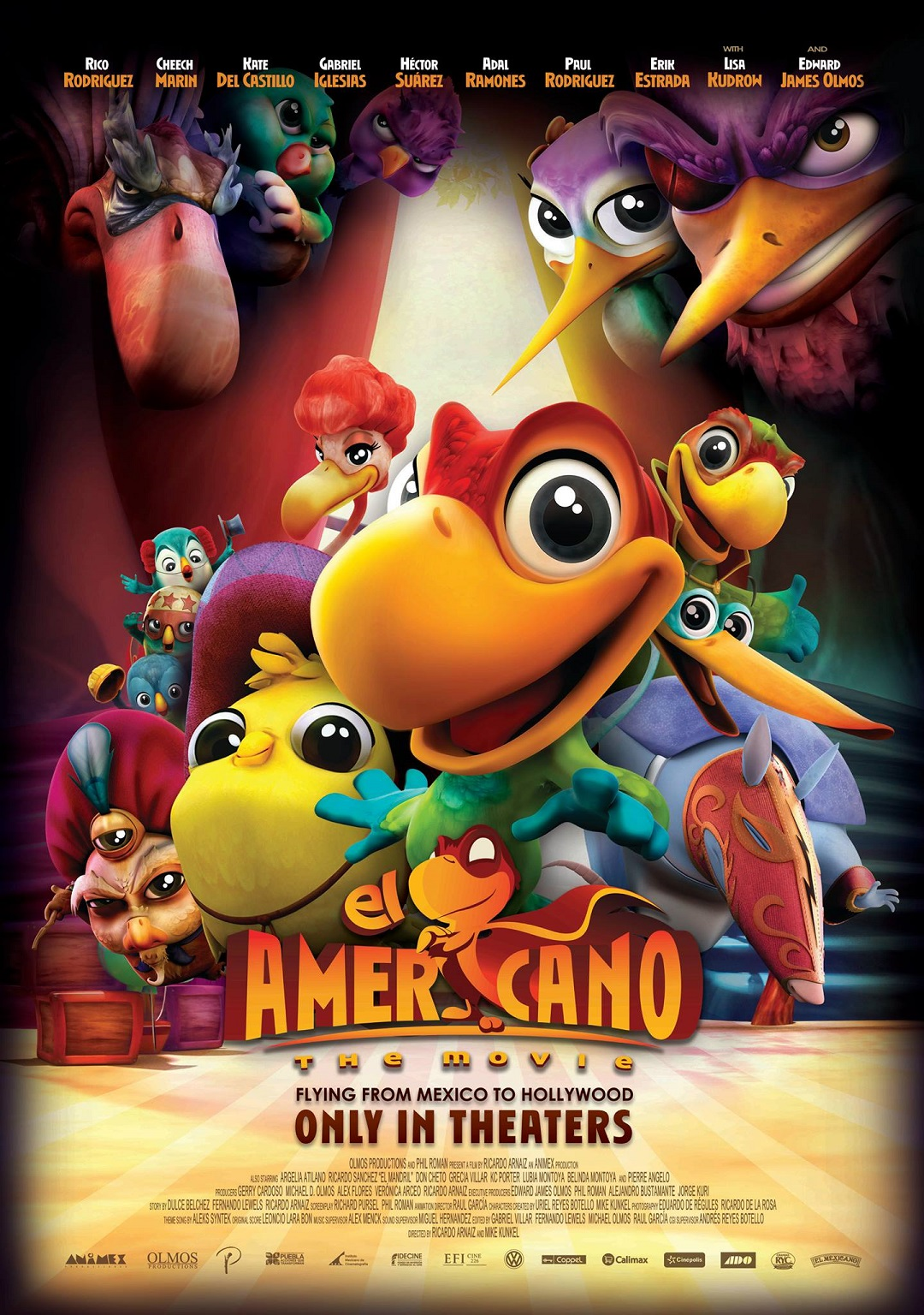 El Americano The Movie - POSTER