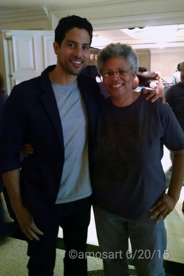 Adam Rodriguez and Se Fija!'s Angela Ortiz