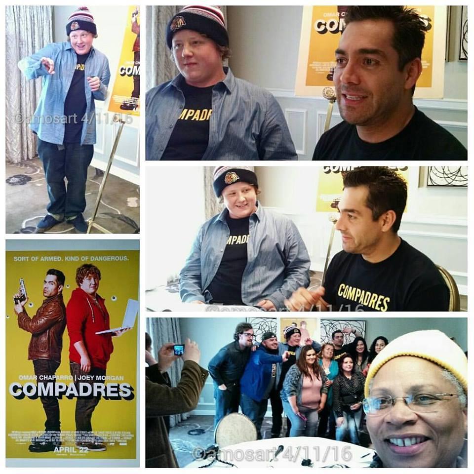 Omar Chaparro and Joey Morgan