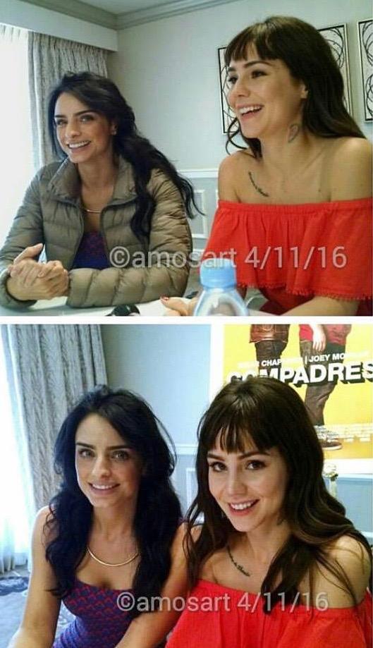 Aislinn Derbez and Camila Sodi