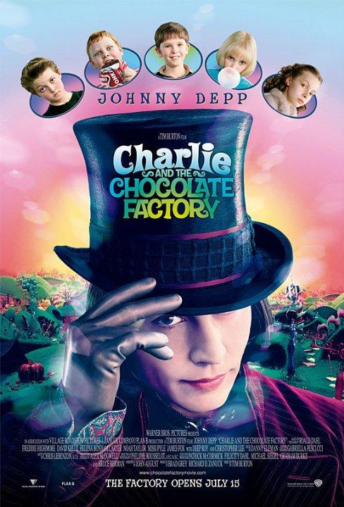 Roald Dahl, 2005 Charlie