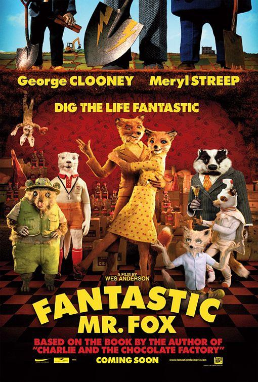 Roald Dahl, 2009 Fantastic Mr fox