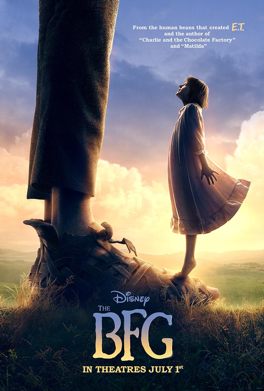 Roald Dahl, 2016 The BFG