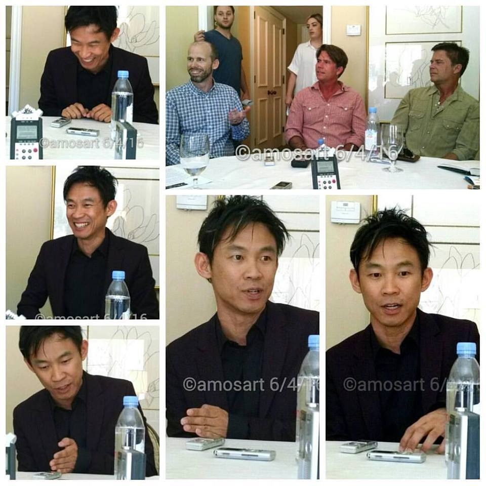 Director James Wan, writers David Leslie, Chad Hayes and Carey W. Hayes
