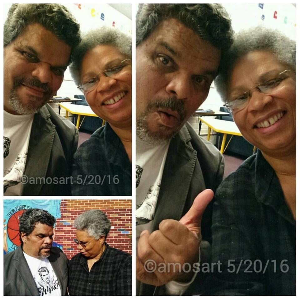 Luis Guzmán and Angela Ortíz Photo: Jesus Figueroa