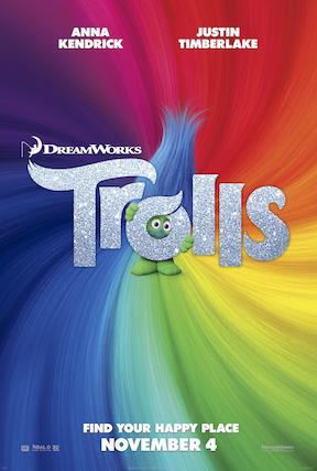 Trolls, Anna Kendrick, Justin Timberlake, Gwen Stefani, James Corden, Russell Brand