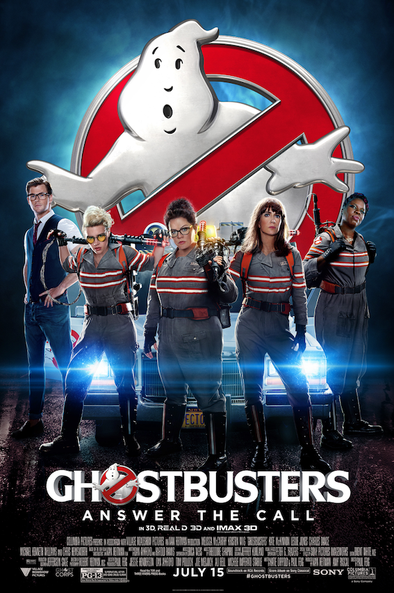 Ghostbusters, Paul Feig, Melissa McCarthy, Kristen Wiig, Kate McKinnon, Leslie Jones, Chris Hemsworth