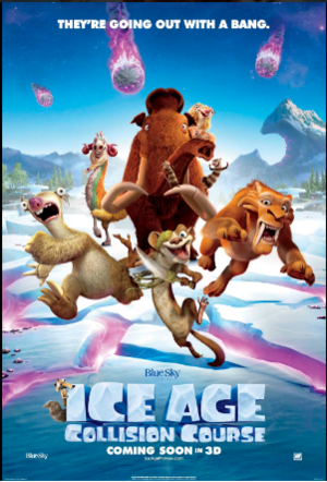 Ice Age: Collision Course, John Leguizamo, Queen Latifah, Wanda Sykes, Ray Romano, Josh Peck, Max Greenfield, producer Lori Forte, Denis Leary, Seann William Scott, Josh Peck, Simon Pegg, Keke Palmer, Jennifer Lopez, Adam Devine, Jesse Tyler Ferguson, Max Greenfield, Jessie J, Nick Offerman, Stephanie Beatriz, Michael Strahan, Melissa Rauch, and Neil deGrasse Tyson. And directed by Michael Thurmeier, Galen Tan Chu