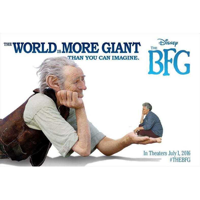 Steven Spielberg, Roald Dahl, 2016 The BFG, Mark Rylance, Penelope Wilson, Ruby Barnhill, Angela M. Ortíz