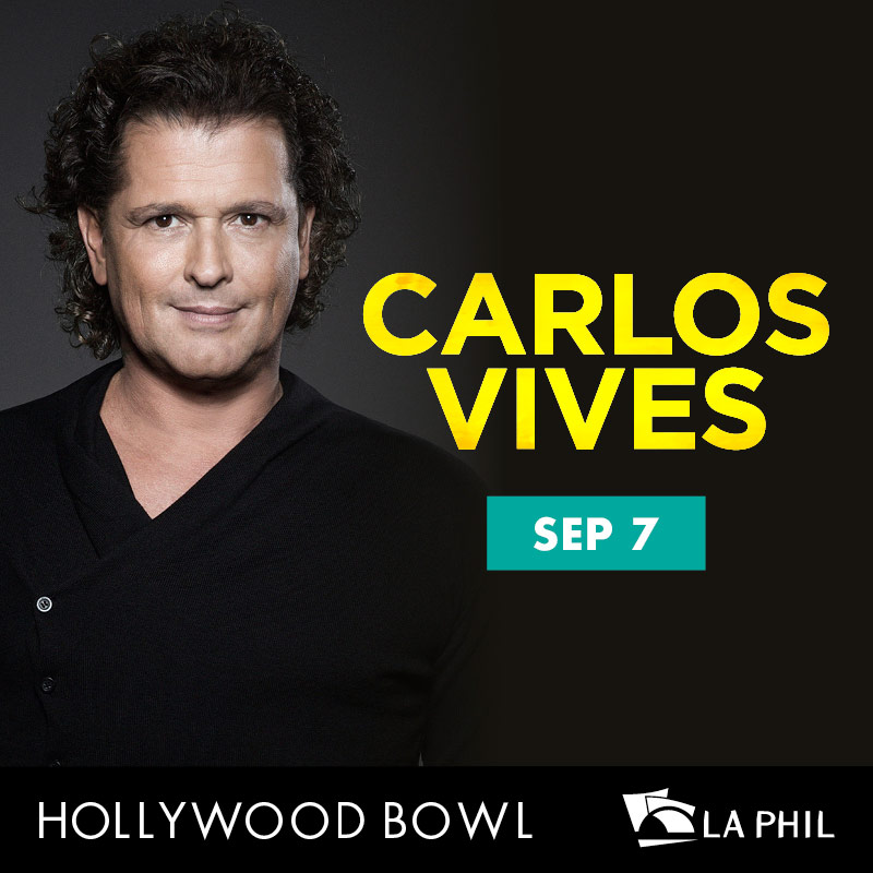 Carlos Vives, the Hollywood Bowl