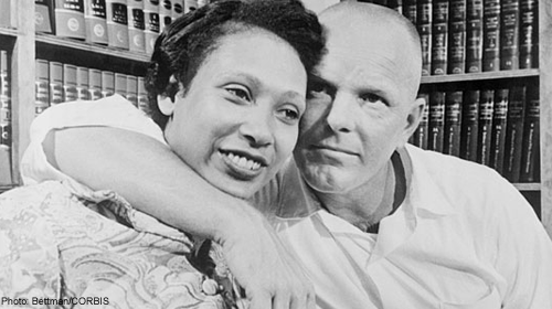 The real Mildred and Richard Loving