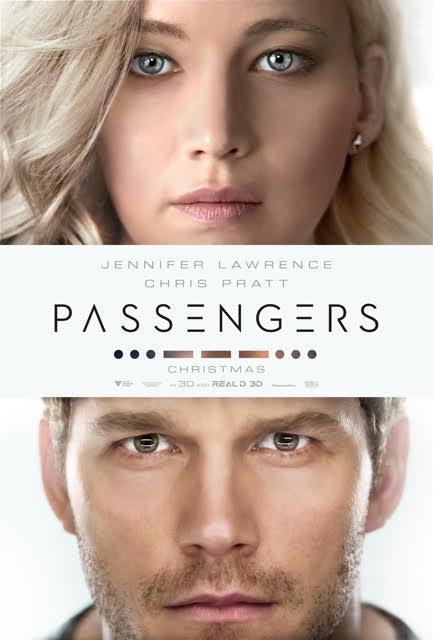 Passengers, Chris Pratt, Jennifer Lawrence, Michael Sheen (Arthur), Laurence Fishburne (Gus Mancuso), Andy Garcia (Captain Norris)