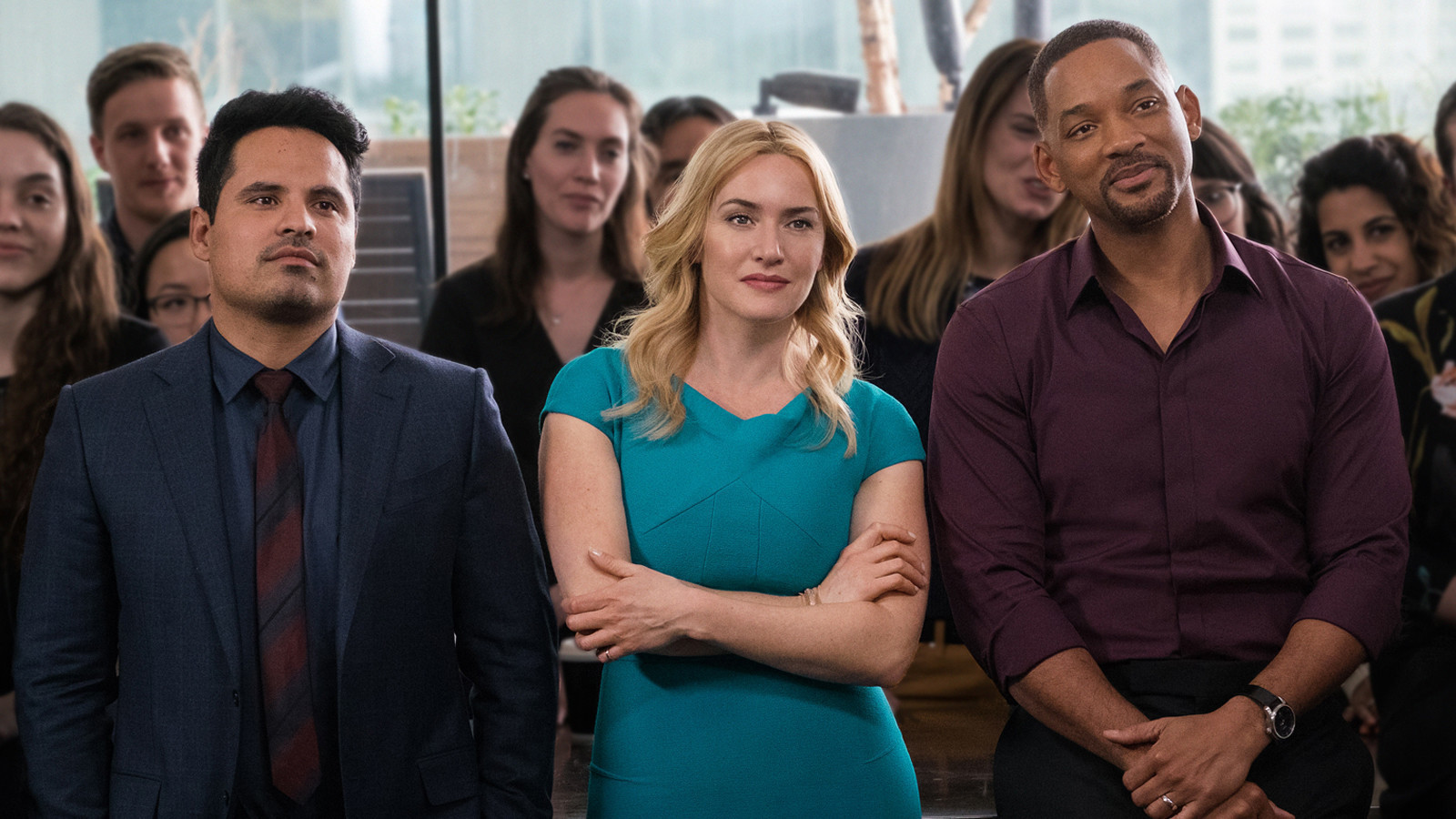 Michael Peña, Kate Winslet, Will Smith, Collateral Beauty