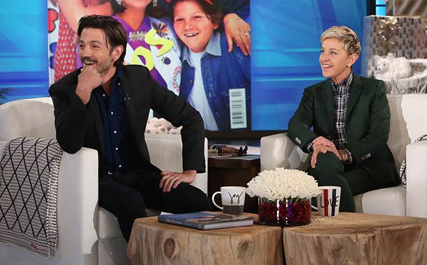 Diego Luna, Ellen DeGeneres, Michael Rozman/Warner Bros.