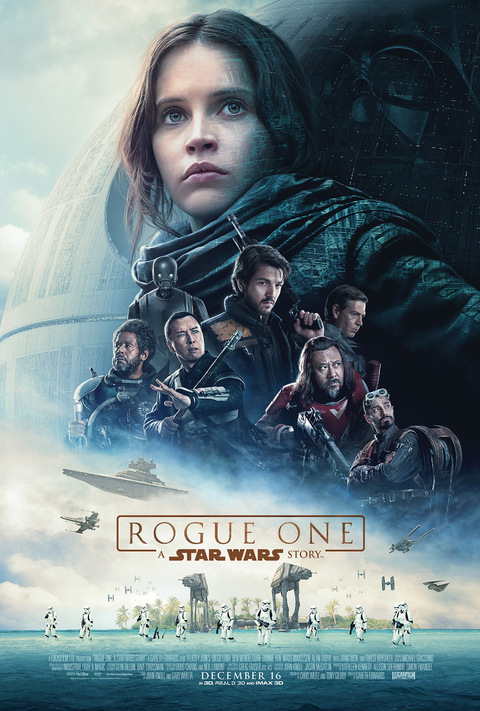 Rogue One: A Star Wars Story, Diego Luna, Felicity Jones, Donnie Yen, Forest Whitaker, Alan Tudyk, Wen Jiang, Ben Mendelsohn, Riz Ahmed, Mads Mikkelsen, Jimmy Smits, Ben Daniels, Genevieve O'Reilly, Gareth Edwards, Chris Weitz, Tony Gilroy, The Force