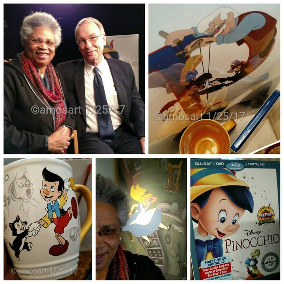 Angela Ortíz, J.B. Kaufman, Pinocchio, Disney, Walt Disney, Digital HD, Bluray, Film Historian