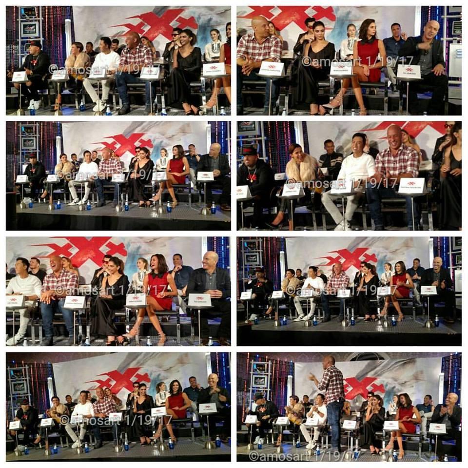 xXx: Return of Xander Cage, D. J. Caruso, Deepika Padukone, Toni Collette, Ruby Rose, Nina Dobrev, Tony Jaa, Kris Wu, Michael Bisping, Rory McCann, Nicky Jam, Neymar Jr., Samuel L. Jackson