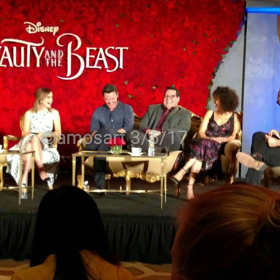 Beauty and the Beast, Alan Menken, Audra McDonald, Bill Condon, Dan Stevens, Emma Watson, Luke Evans, Josh Gad, Gugu Mbatha Raw
