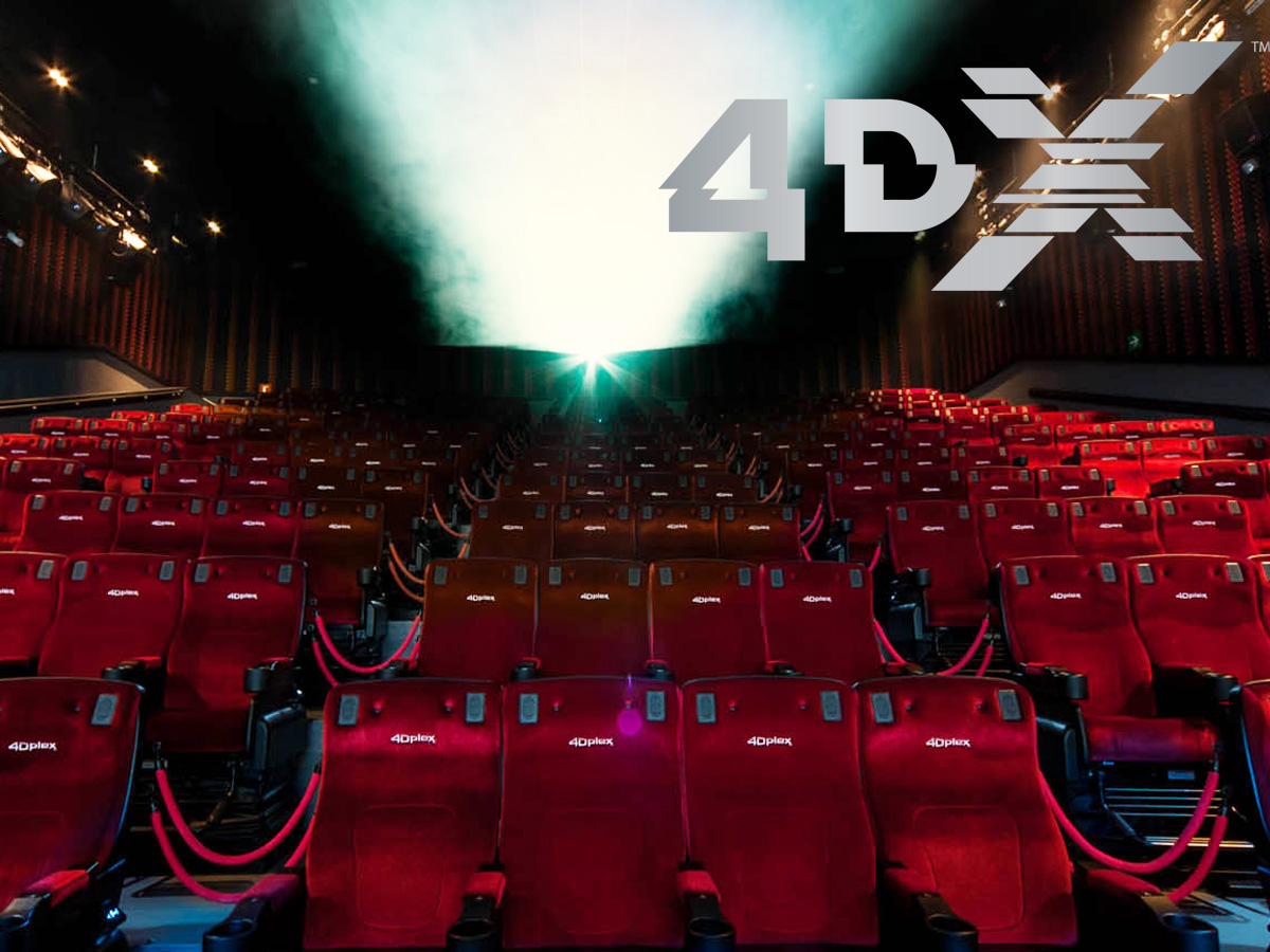 4DX Cinepolis Theater, Guardians of the Galaxy Vol 2