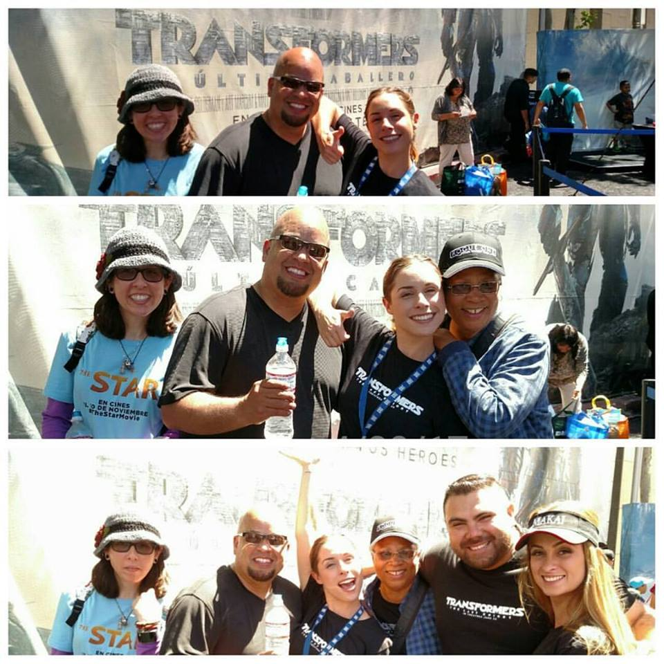 Bumblebee, Optimus Prime truck, Transformers: The Last Knight, Fiesta Broadway