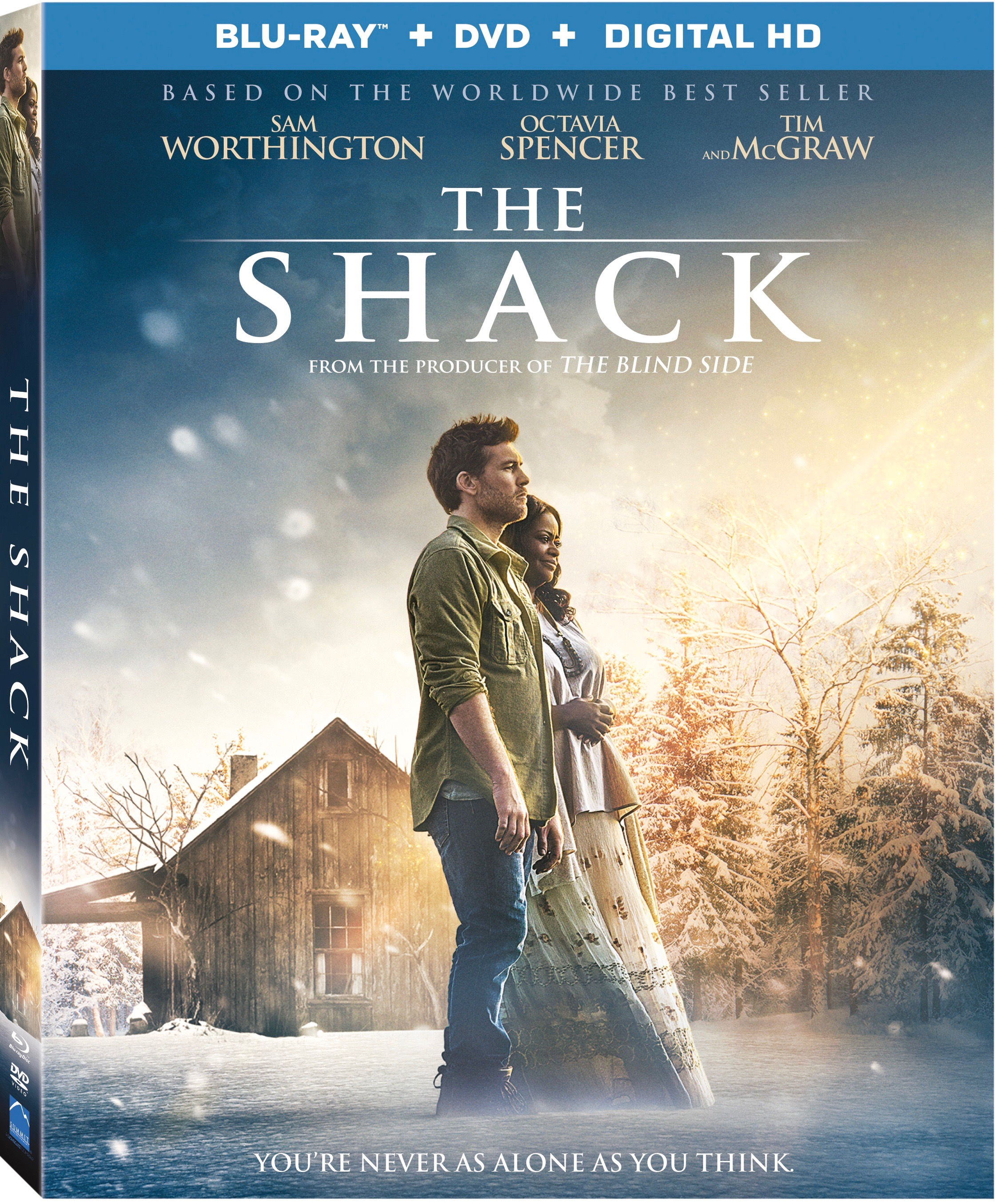 The Shack, author William P. Young, Radha Mitchell