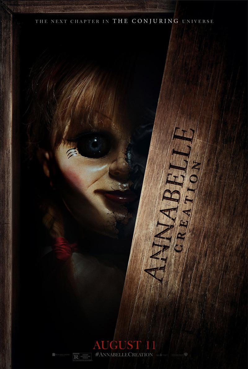 The Conjuring, Annabelle: Creation, David F. Sandberg (Lights Out), Gary Dauberman, Peter Safran, James Wan, Stephanie Sigman (Spectre, Miss Bala), Talitha Bateman (The 5th Wave), Lulu Wilson (upcoming Ouija 2, Deliver Us from Evil), Philippa Anne Coulthard (After the Dark), Grace Fulton (Badland), Lou Lou Safran (The Choice), Samara Lee (Foxcatcher, The Last Witch Hunter), Tayler Buck, Anthony LaPaglia (TV's Without a Trace), Miranda Otto (Showtime's Homeland, The Lord of the Rings Trilogy)