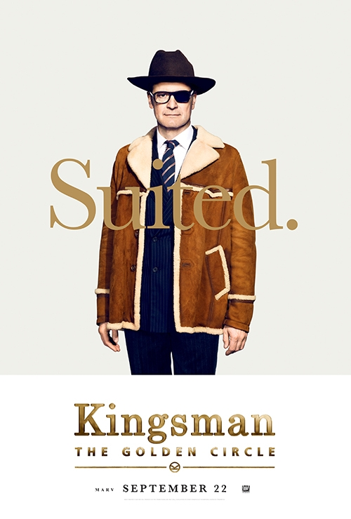 Kingsman: The Golden Circle, Colin Firth, Julianne Moore, Taron Egerton, Mark Strong, Halle Berry, Pedro Pascal, Sir Elton John, Channing Tatum, Jeff Bridges