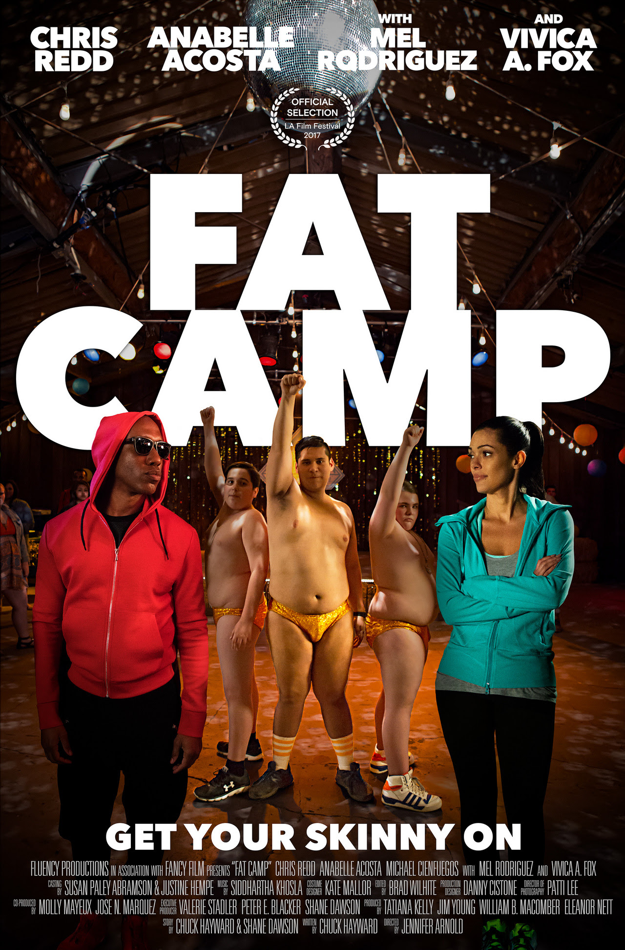 Chris Redd, Angela Ortíz, Anabelle Acosta Fat Camp