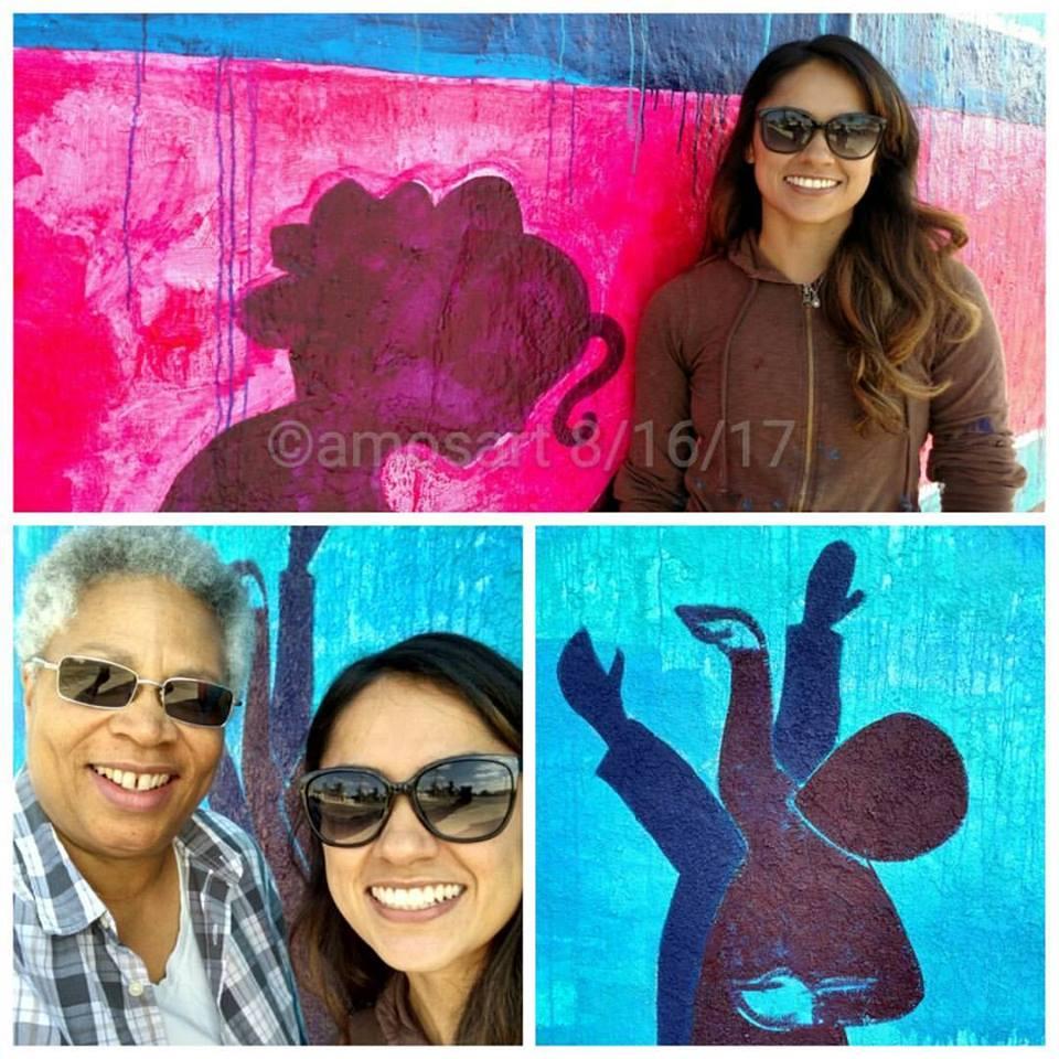 Kristy Sandoval, Angela Ortíz, Rams art campaign, Mi Ciudad, Mi Equipo, Mis Rams