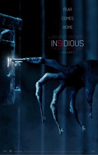 Insidious: The Last Key, Lin Shaye, Angus Sampson, Whannell, Josh Stewart, Caitlin Gerard, Kirk Acevedo, Adam Robitel, Giveaway